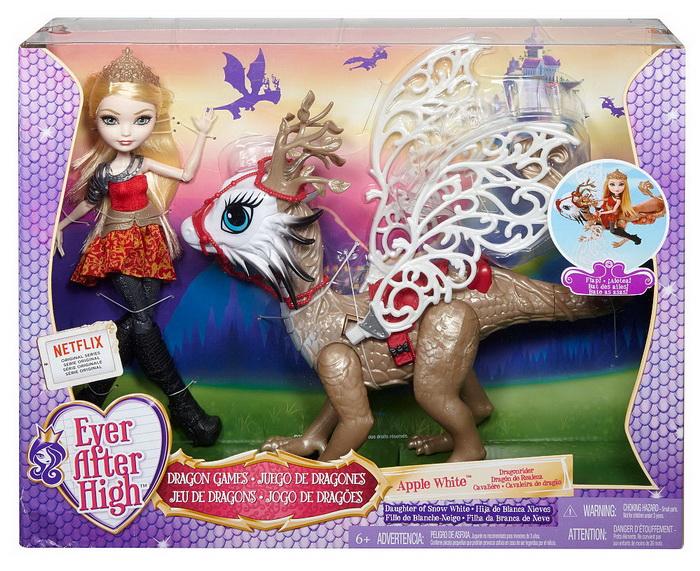 Купить в Москве куклу с драконом в коробке.
