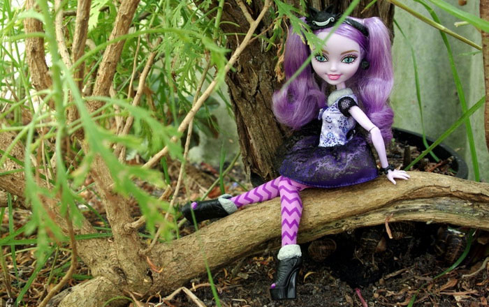 Базовая кукла Китти Чешир.