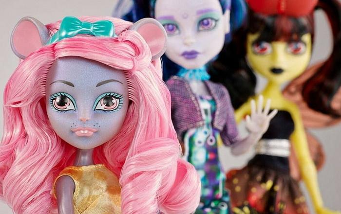 Сет из трёх кукол Gala Ghoulfriends.
