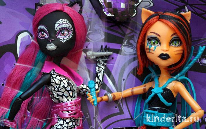 Торалей Страйп и Кэтти Нуар Пугающие рокеры — макияж.