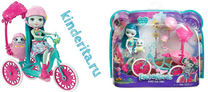 Набор с куклой Тейли и велосипедом