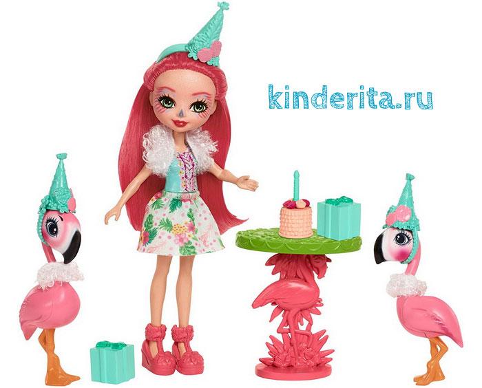 Кукла Фенси и фламинго