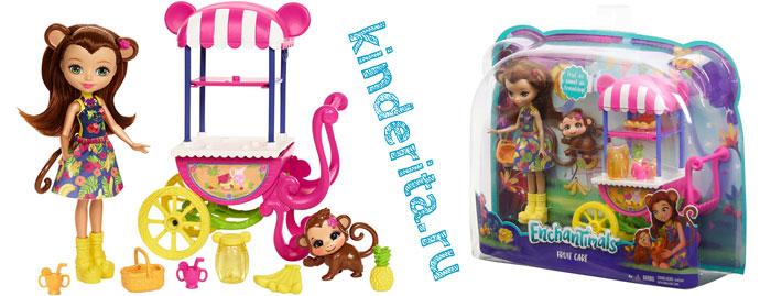 Набор с куклой Мэрит и обезьянкой
