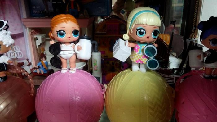 Куклы из третьей серии LOL.