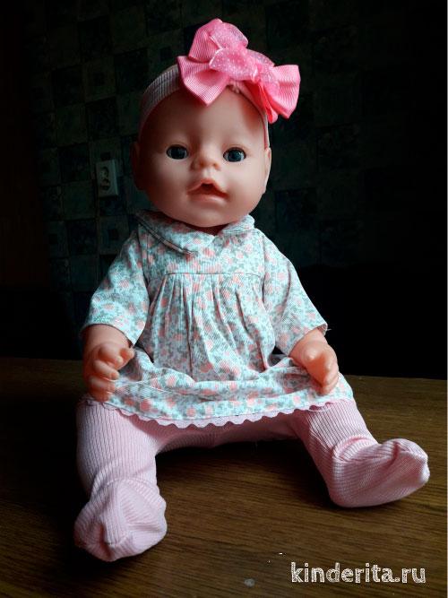 Реалистичная кукла.