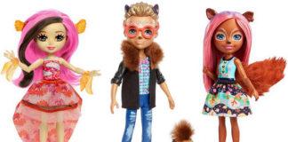 Куклы Энчантималс — второй выпуск.