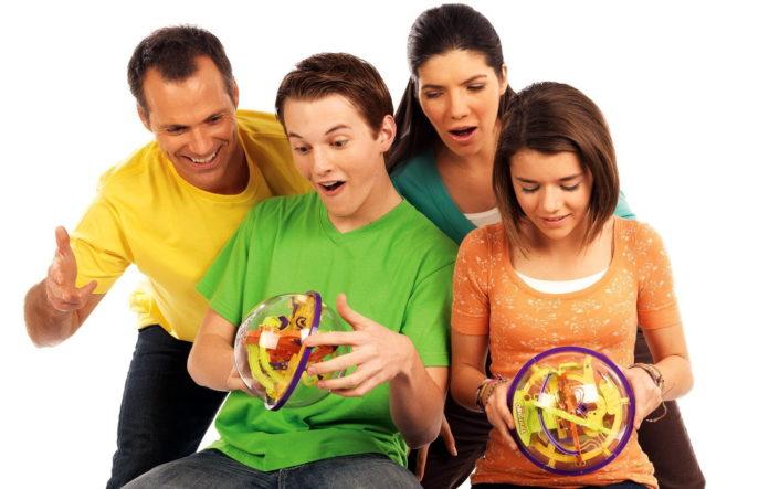 Играем с умом: шар-головоломка Перплексус оригинал.