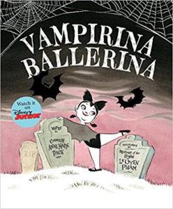 Книжки о Вампирине балерине писательницы Энн Мари Пейс.